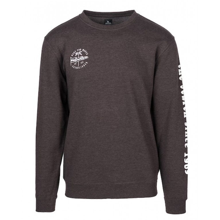 RIP CURL Свитшот М ICONIC CREW FLEECE MOLE MARLE