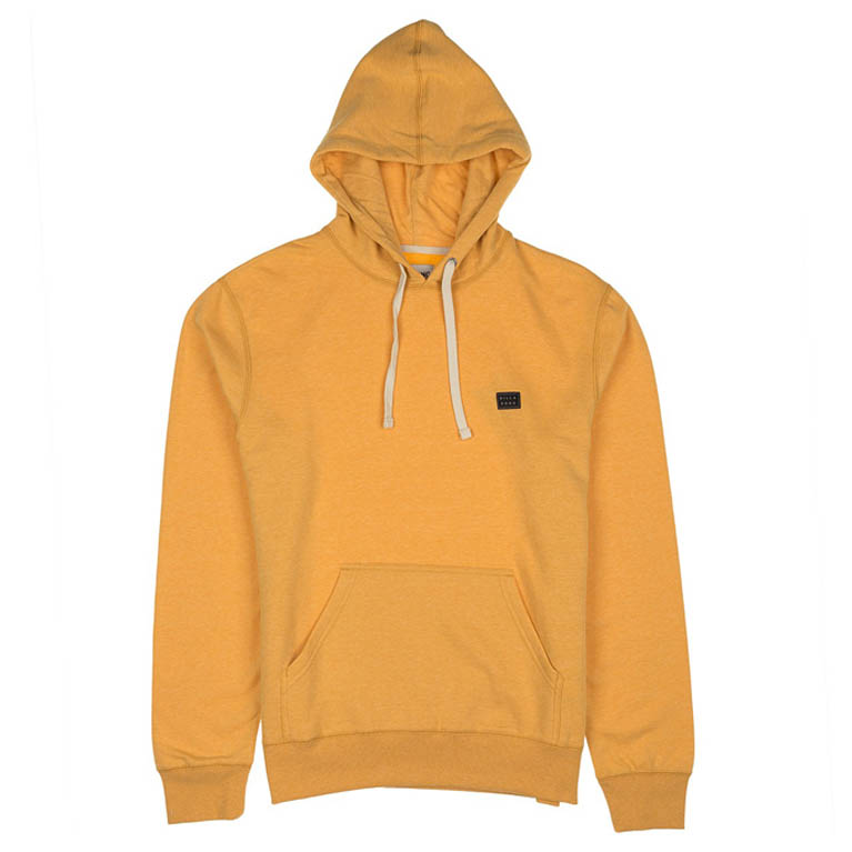 BILLABONG толстовка ALL DAY PULLOVER MUSTARD HEATHER