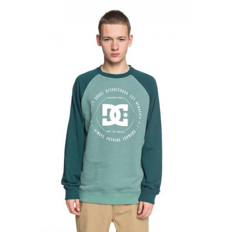 DC SHOES ДЖЕМПЕР МУЖСКОЙ REBUILT CREW RA M OTLR XGGG