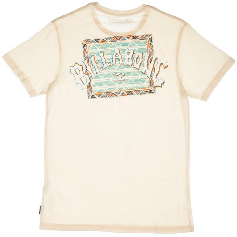 BILLABONG футболка KANTON TEE SS OFF WHITE в Перми