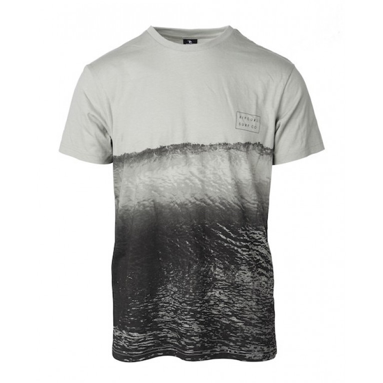 RIP CURL Футболка М GLASSY DAY TEE цвет 3259 NEUTRAL GREY