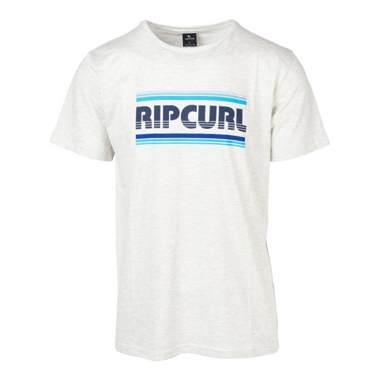 RIP CURL Футболка М ESSENTIAL BIGMAMA SS TEE OPTICAL WHITE MARLE