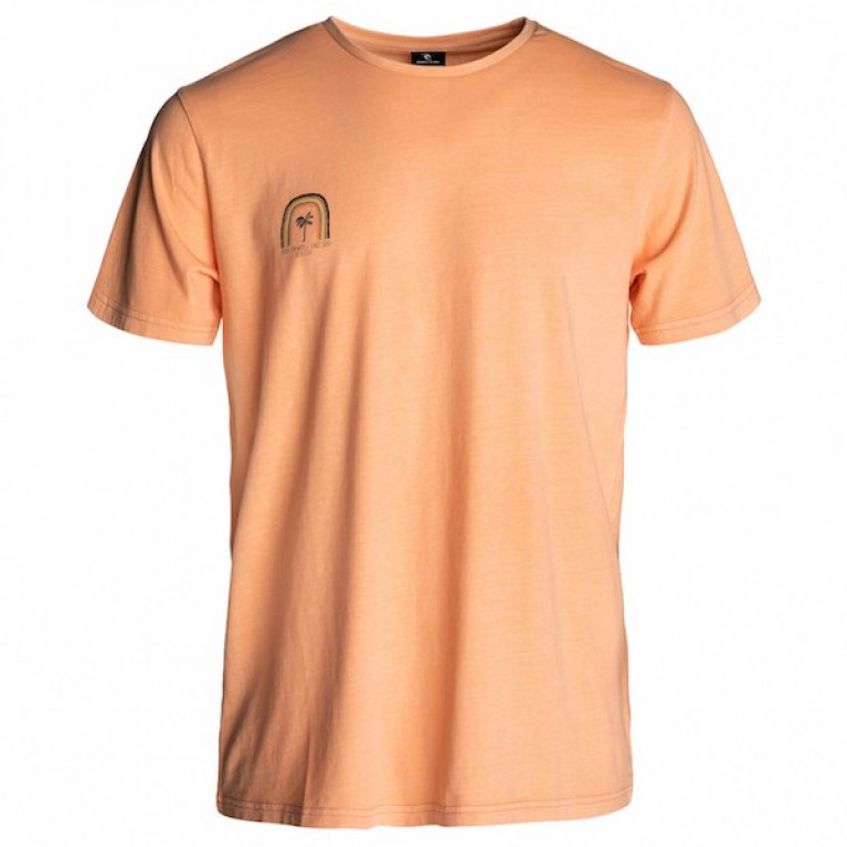 RIP CURL Футболка М RAINBOW SHADES TEE, ORANGE