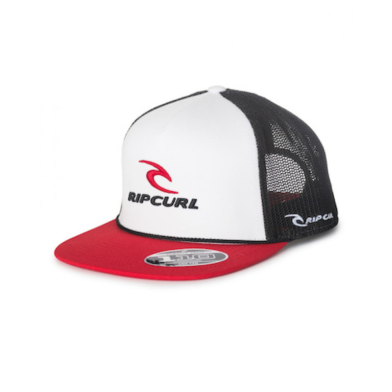 RIP CURL Бейсболка М RC CLASSIC TRUCKER CAP цвет 3262 OPTICAL WHITE