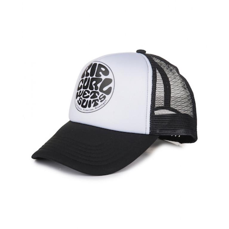 RIP CURL Бейсболка Ж WETTIE TRUCKA CAP цвет 90 BLACK