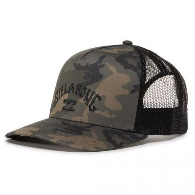 Billabong Бейсболка Flatwall Trucker Camo