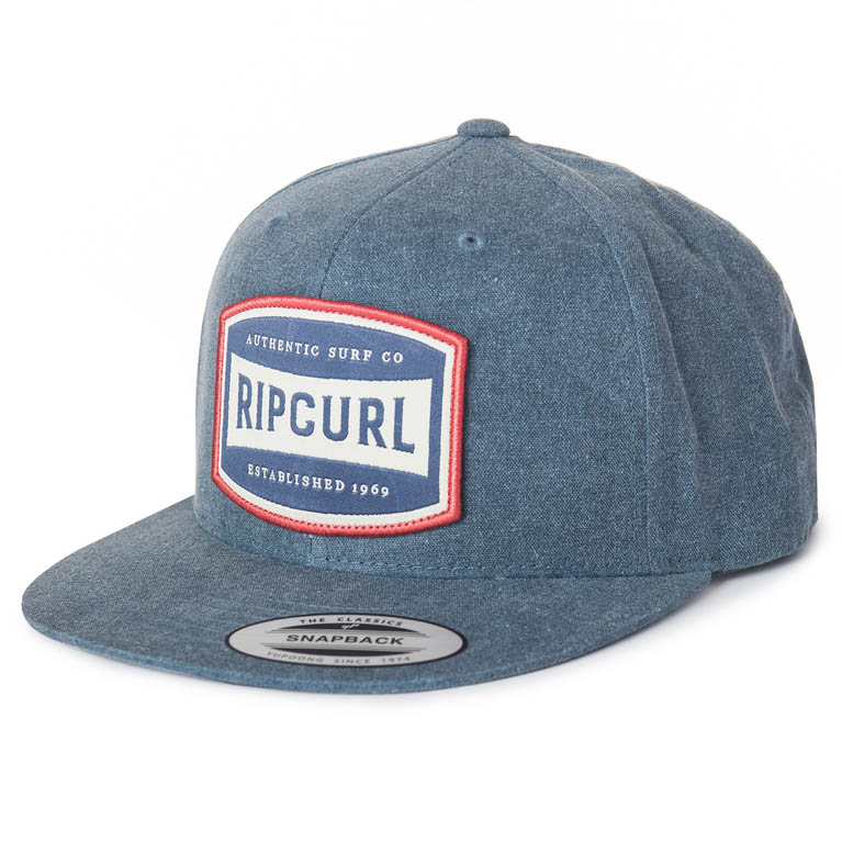 RIP CURL Бейсболка М AUTHENTIC SNAPBACK CAP ; цвет 8503 BLUE INDIGO
