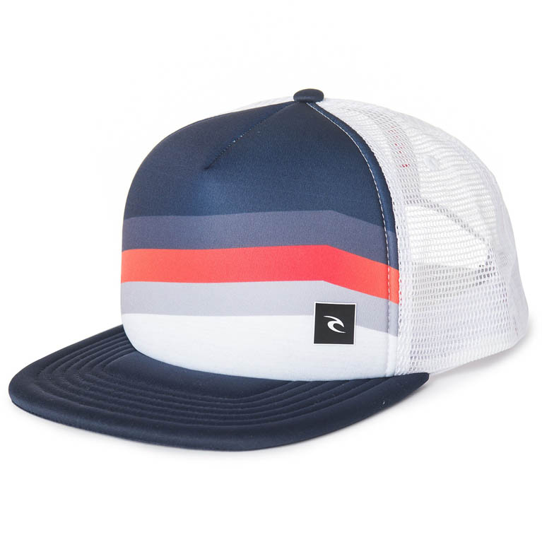 RIP CURL Бейсболка М REACT TRUCKER CAP ; цвет 3262 OPTICAL WHITE