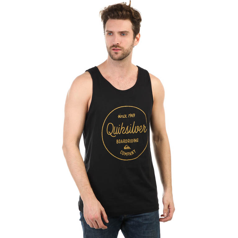 QUIKSILVER МАЙКА МУЖСКАЯ MORNINSLIDETANK M TEES BYJ0