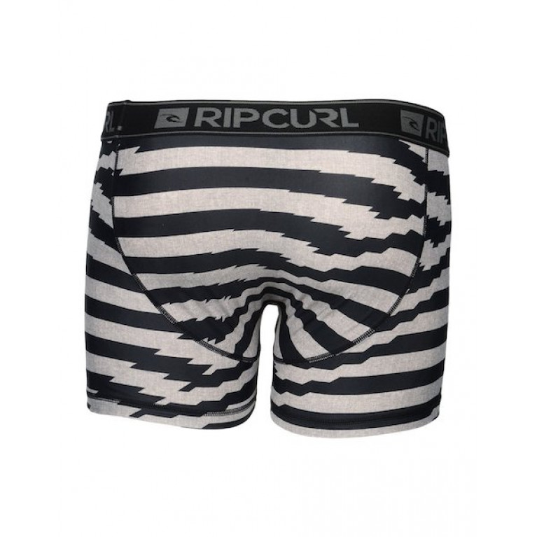 RIP CURL Трусы М SOLID & STRIPY BOXER OPTICAL WHITE
