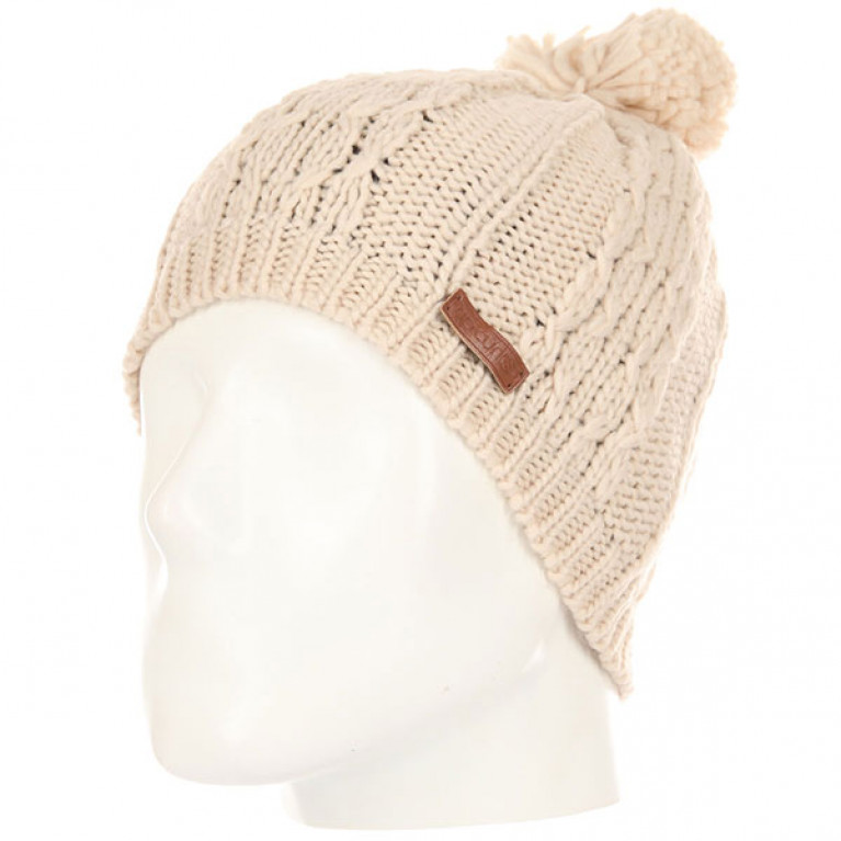 RIP CURL Шапка Ж PLAITY BEANIE CRYSTAL GRAY