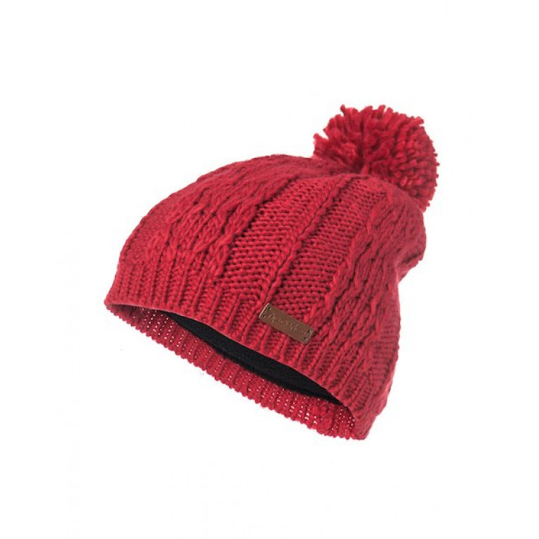 RIP CURL Шапка Ж PLAITY BEANIE RED ORCHID