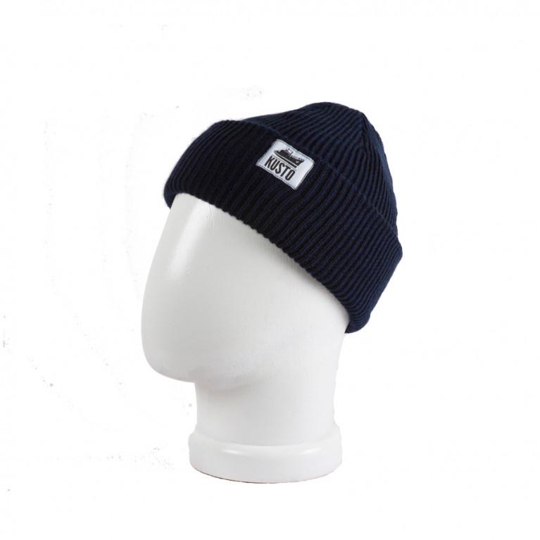 KUSTO шапка Short Dark Navy