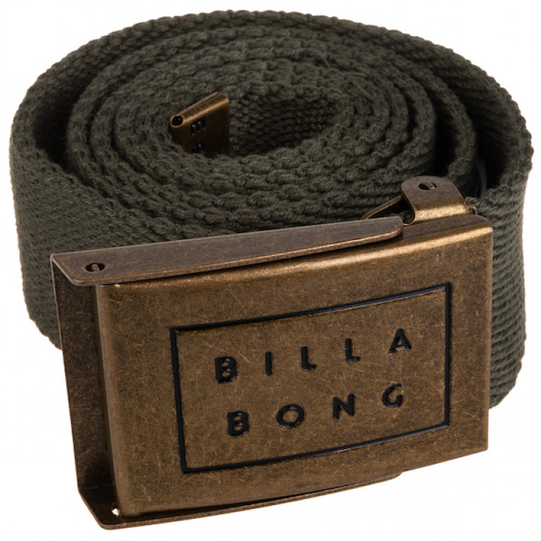 BILLABONG ремень SERGEANT BELT DARK OLIVE в Перми