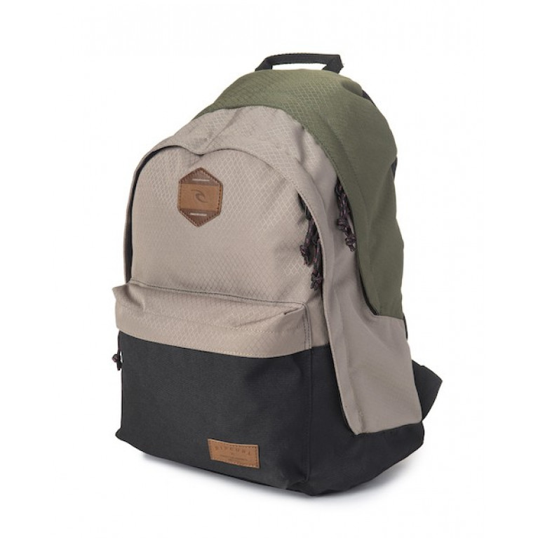 RIP CURL Рюкзак М DOUBLE DOME STACKA цвет 64 KHAKI