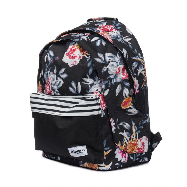 RIP CURL  Рюкзак Ж DOUBLE DOME DESERTFLOWER BLACK