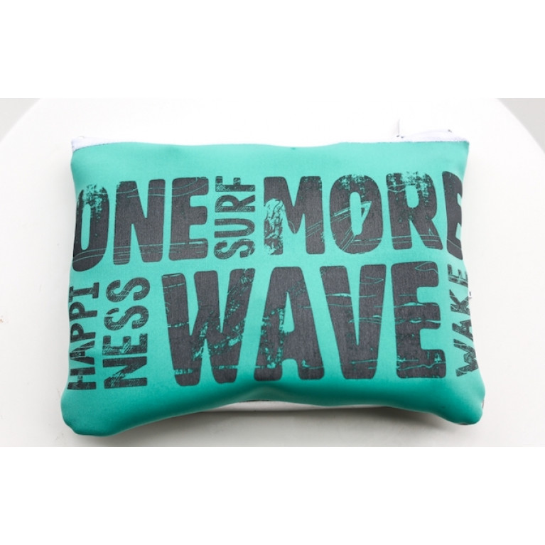ONE MORE WAVE Travel bag из неопрена, One Size, мята