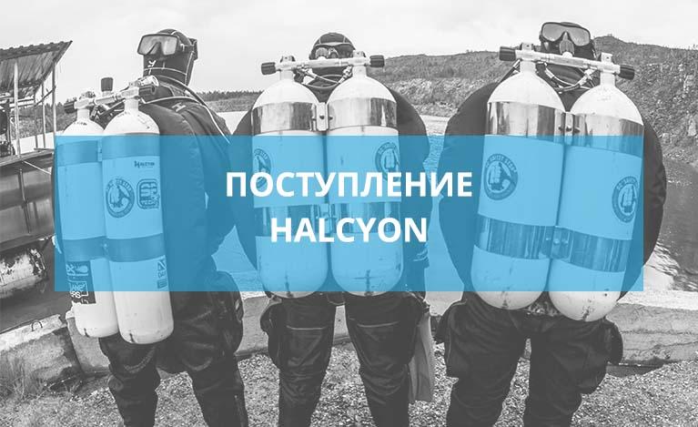Поступление товаров бренда Halcyon и Scubapro.