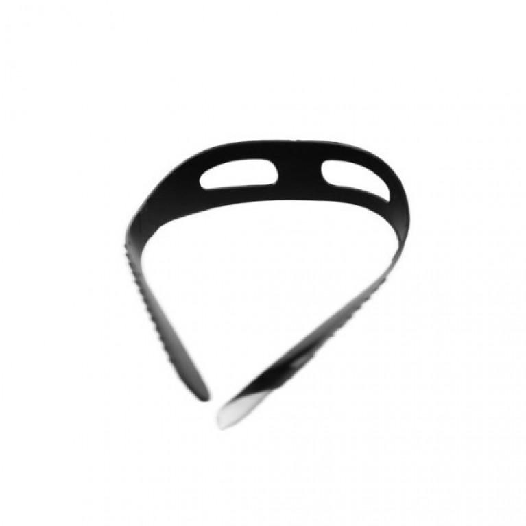 Ремень к маске, черный силикон