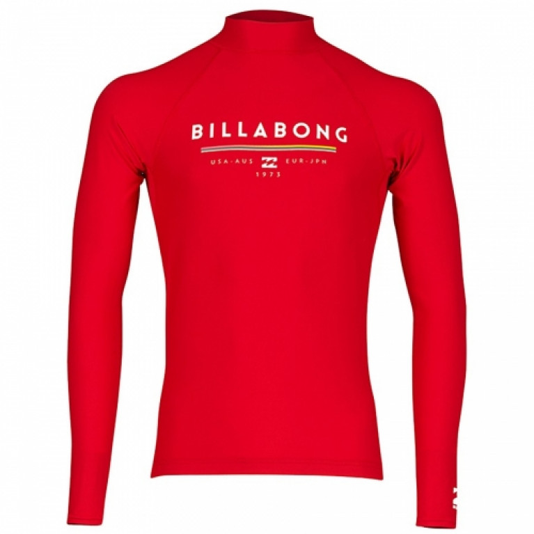 BILLABONG лайкра UNITY LS RED