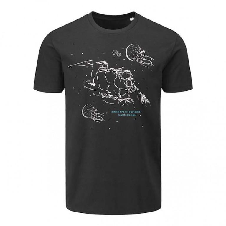 Футболка Fourth Element INNER SPACE, черная
