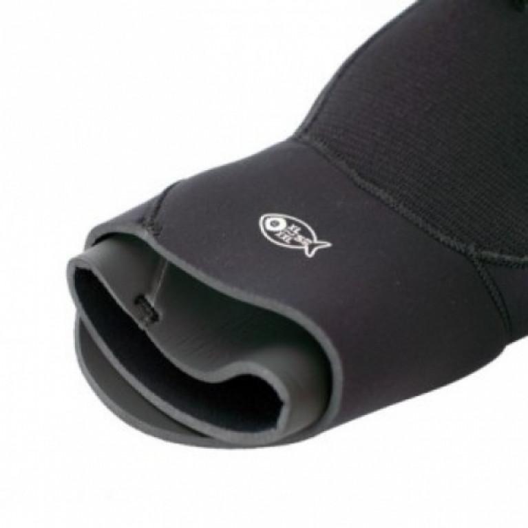 5 мм Перчатки Scorpena E полусухие черные в Перми
