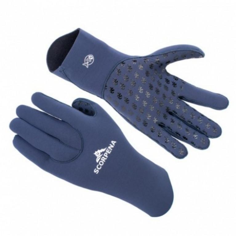 3 мм Перчатки Scorpena B, синие в Перми