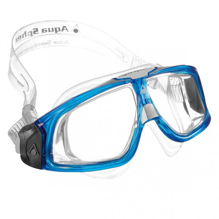 Очки Aqua Sphere SEAL II transparent/blue
